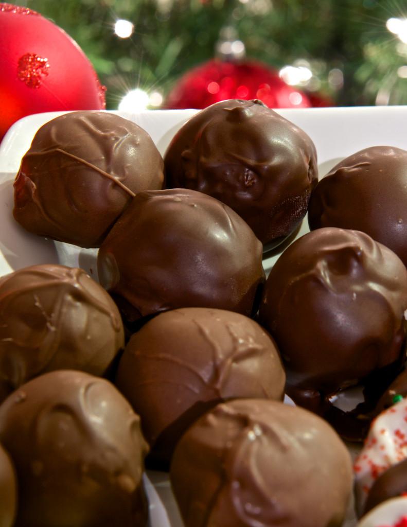 Peanut Butter Balls (buckeyes)