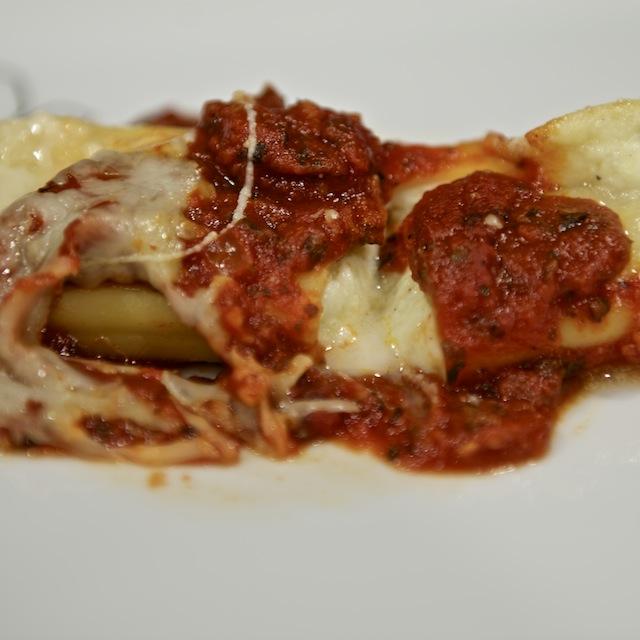 Baked Manicotti with Cheese