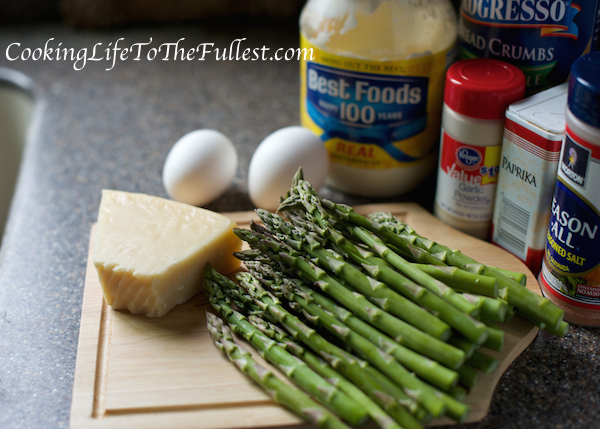 Crunchy Baked Asparagus Spears Ingredients