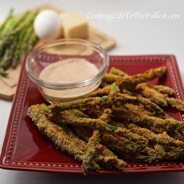Crunchy Baked Asparagus Spears