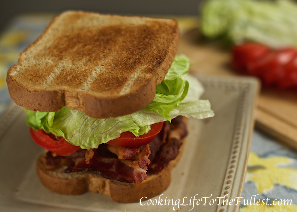 BLT - Bacon, Lettuce and Tomato Sandwich