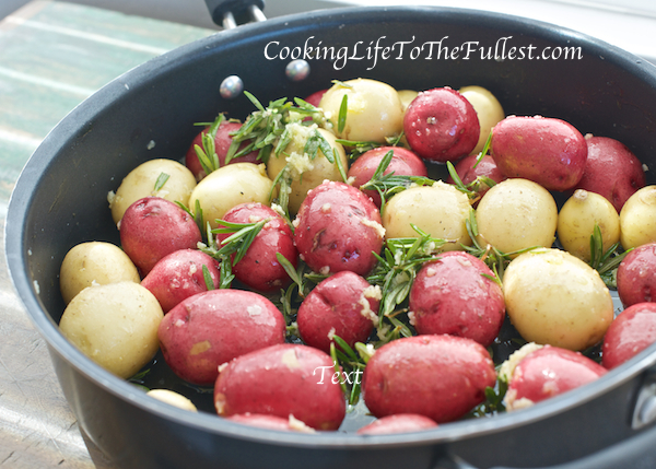 Rosemary Skillet Potatoes
