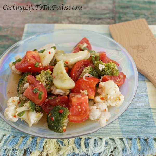Marinaded Vegetable Salad