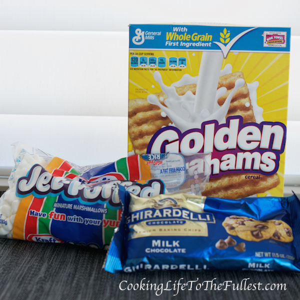Golden Grahams S'mores