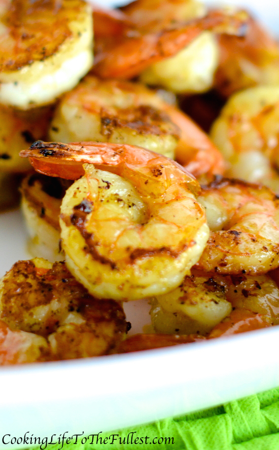 Zesty Lemon Sautéed Shrimp