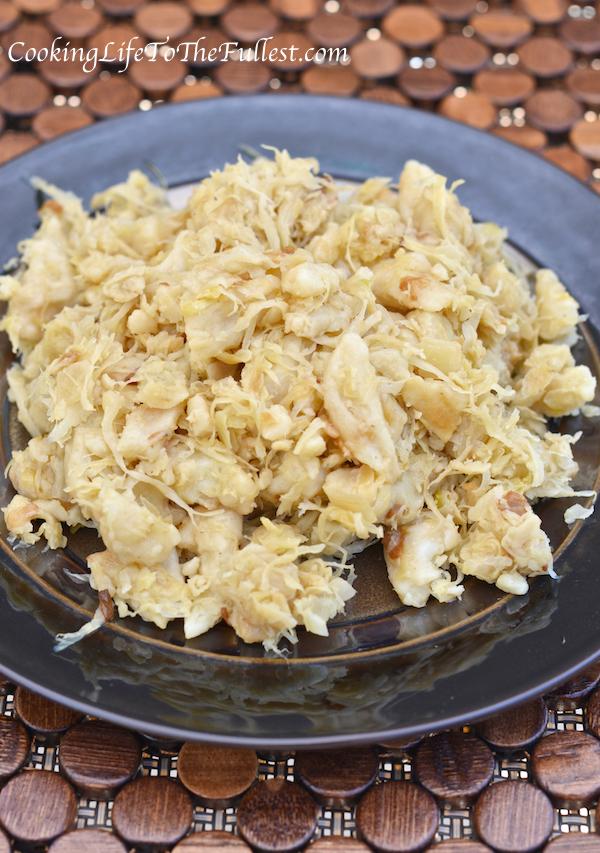Cindy Lou's Sauerkraut & Dumplings