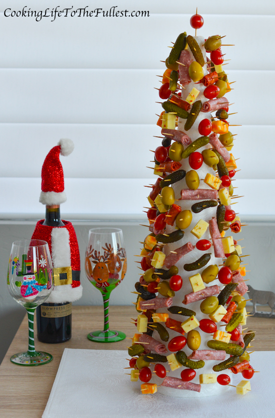 Appetizer Christmas Tree