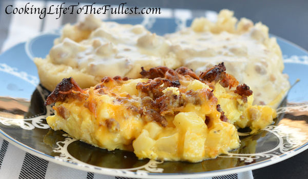 Cheesy Potato Breakfast Casserole - Cooking Life to the ...