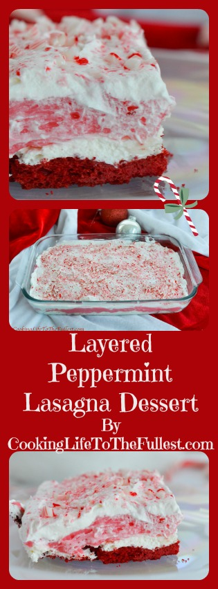 Layered Peppermint Lasagna Dessert