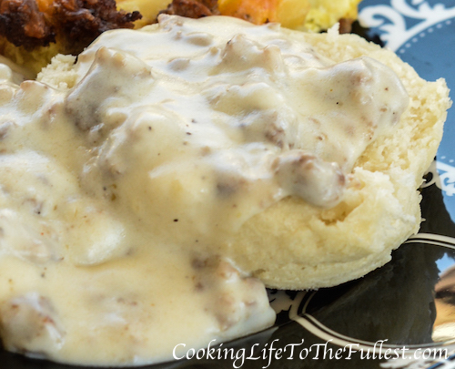 Country Style Sausage Gravy