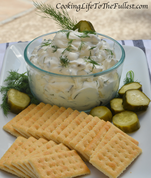 Dill Pickle Dip: Cooking Life To The Fullest