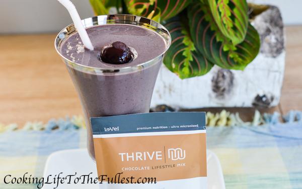 Thrive Chocolate Covered Cherry Shake