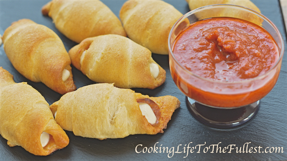 Crescent Pizza Rolls