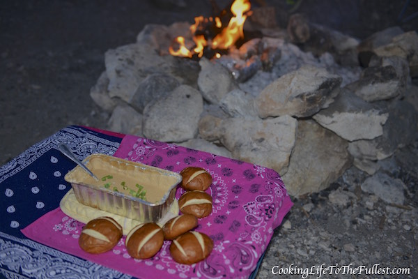 Campfire Beer Cheese Dip
