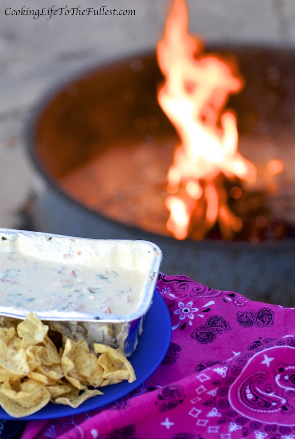 Campfire Tequila Queso