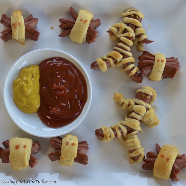 Mummy Dogs & Spidey Dogs
