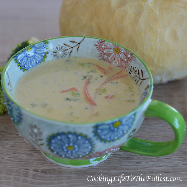 Broccoli Cheddar Cheese Soup